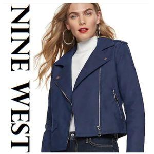 NWT Nine West Moto Jacket.